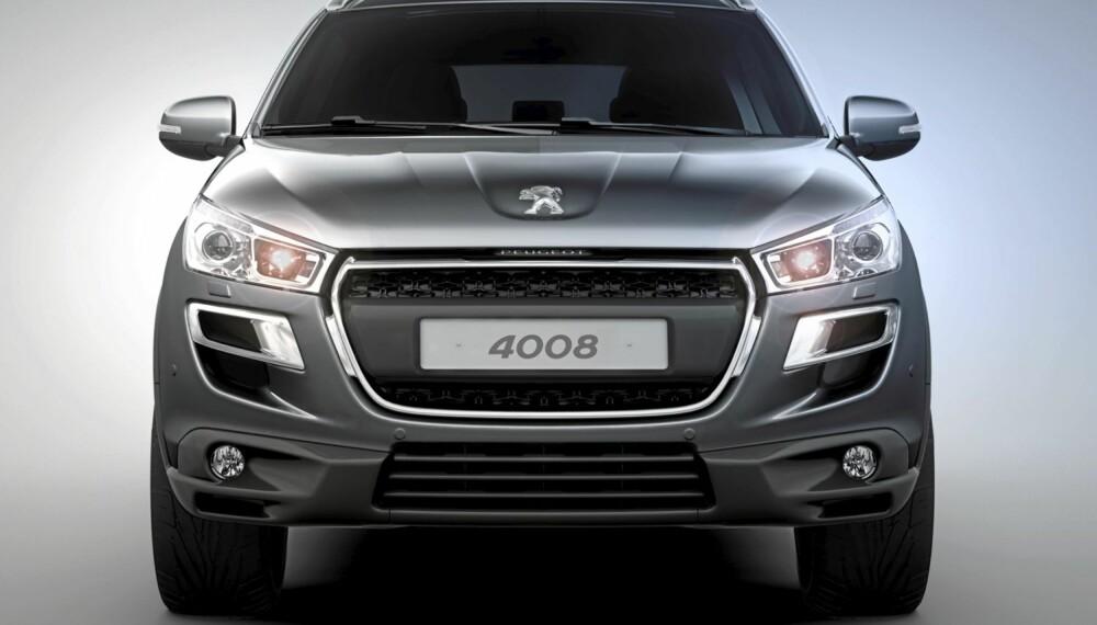 SUV: Dette er Peugeot 4008 - ventet til Norge våren 2012.