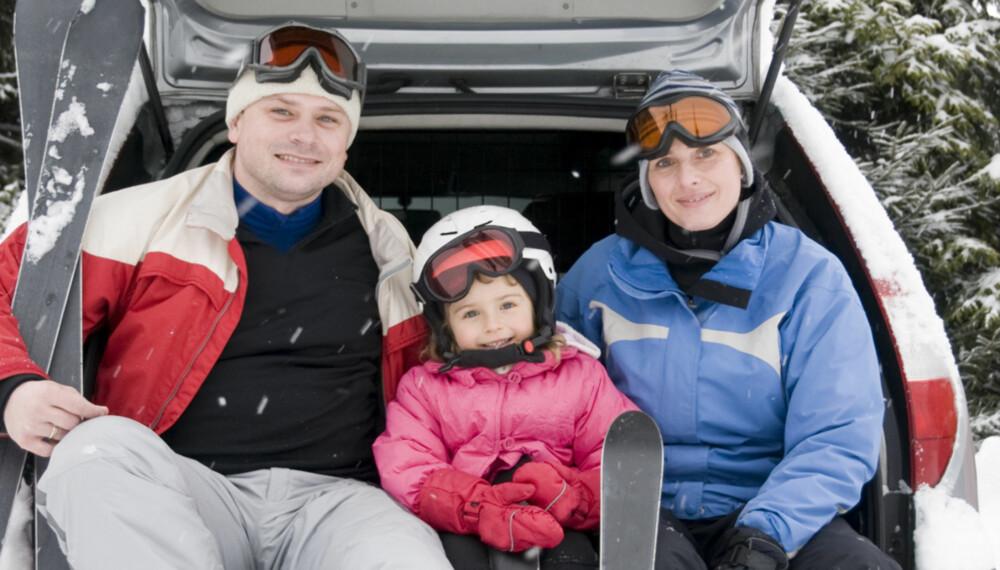 DRØMMEBIL: Det er godt med en bil som har litt ekstra plass om vinteren.