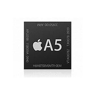 RÅSTERK: Apples A5-chip har to prosessorer.