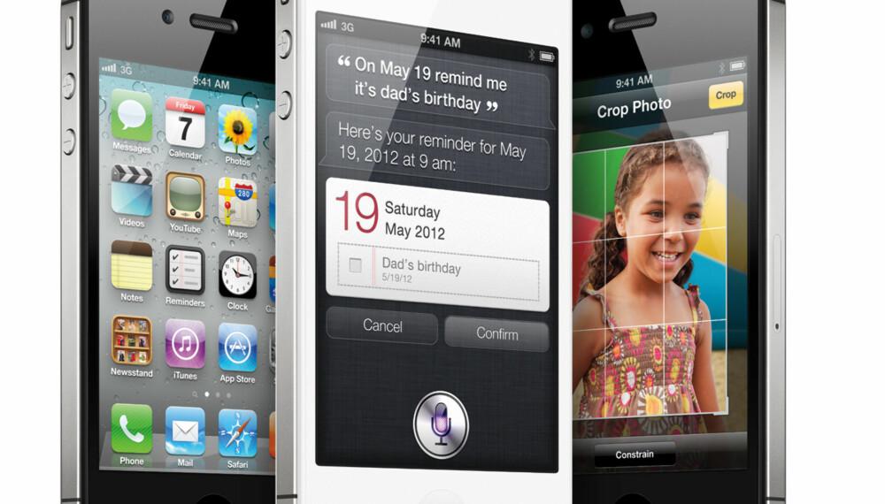 PRIKKLIK UTENPÅ: De store forskjellene i iPhone 4S finner du bak fasaden.