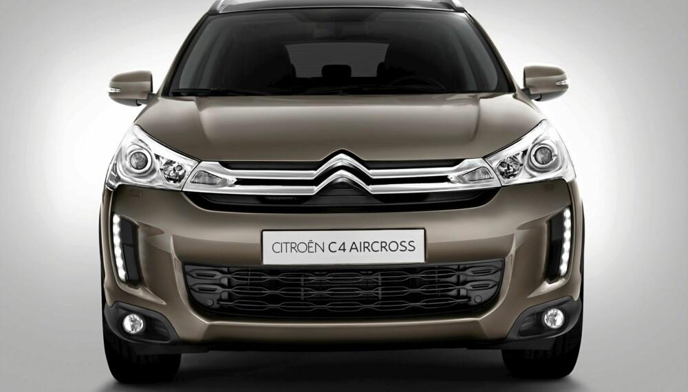 SUV: Dette er en Citroën C4 Aircross.