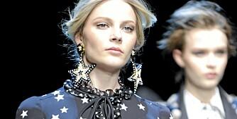 DOLCE & GABBANA: Designerduoen Dolce & Gabbana står for den hotte stjernetrenden denne høsten. Sjekk ut den fine blazeren fra Only til bare 459 lenger ned i saken.