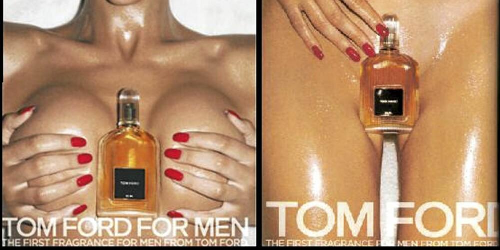 BANNLYSTE REKLAMER: Tom Ford fikk mye oppmerksomhet for denne reklamekampanjen.