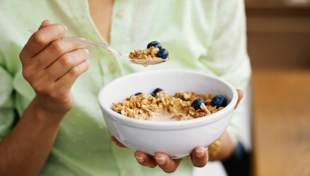 ENERGI: Riktig frokost er viktig hvis du vil holde energien oppe hele dagen.