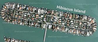 Hibiscus Island er en av de kunstige øyene i Biscayne Bay. De ble lagd av Miami Beach-grunnlegger Carl Fischer på 20-tallet.