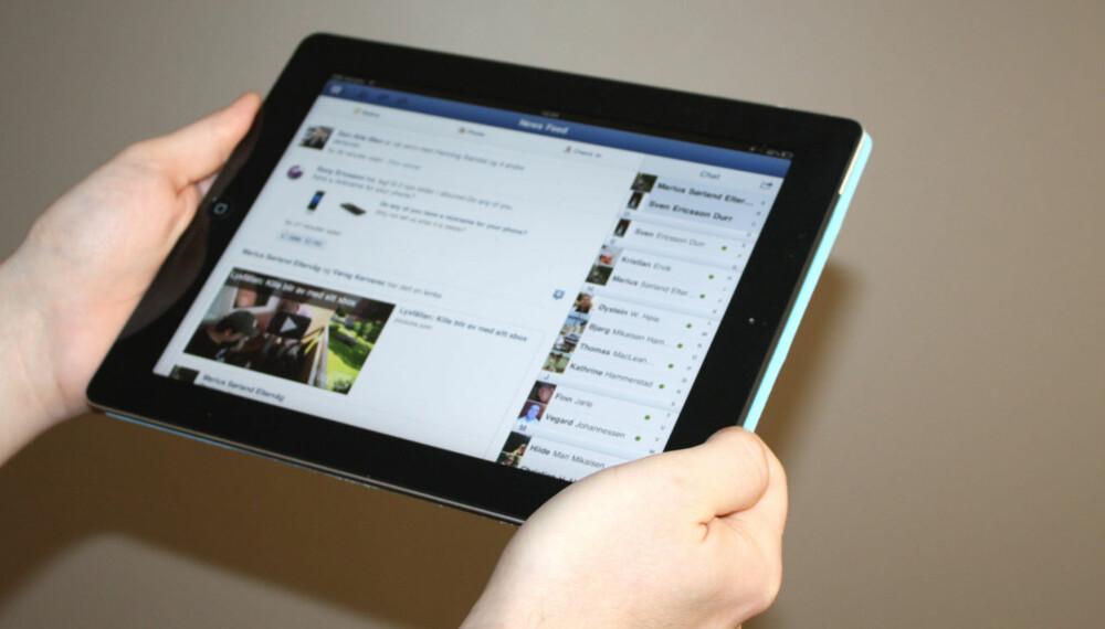 SMART APP: Facebook i iPad-versjon gjør det enkelt og morsomt å bruke Facebook på nettbrettet.