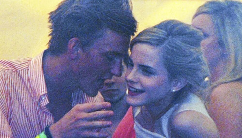 Francis og Emma tilbake i 2008, da de var kjærester.