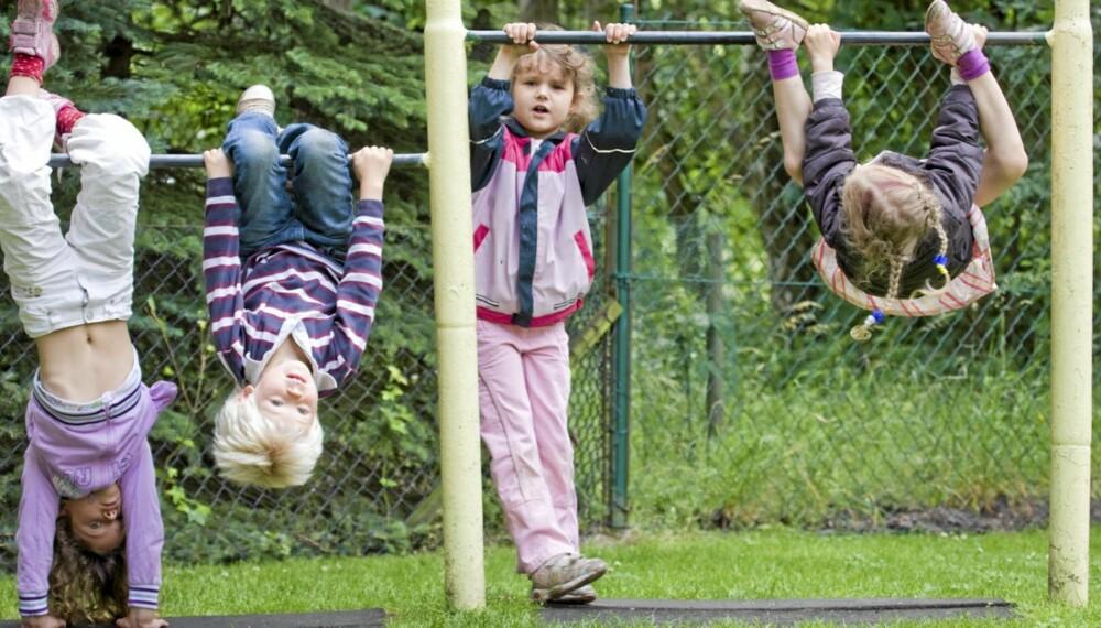 FYSISK AKTIVITET: Den tidligere Skolefritidsordningen skal være mer enn bare et sted å være, og med det nye navnet, Aktivitetsskolen, skal det nå fokuseres mer på fysisk aktivitet og lek.