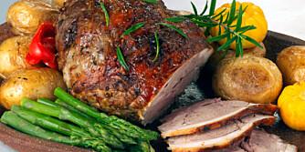 DELIKAT: Lammestek har en delikat smak som krever riktig tilbehør.