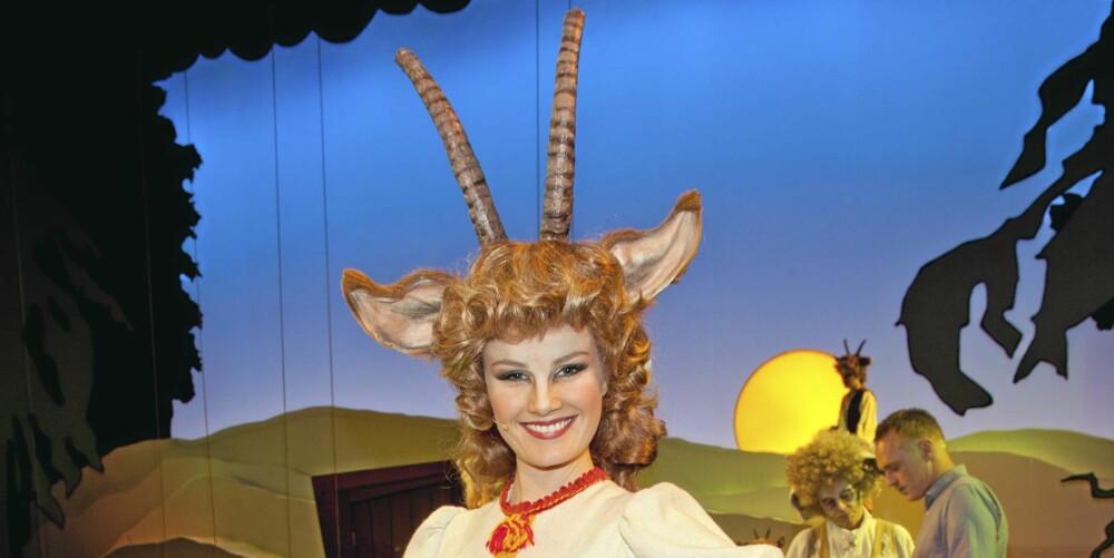 NY MUSIKAL: Lena spiller hovedrollen som geitemor i «Rockeulven» som har premiere 13. oktober på Nationaltheatret.