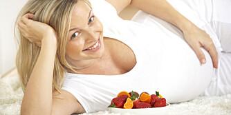 FORVIRRING: Det er ikke alltid så lett å vite hva man bør spise under graviditet og amming.