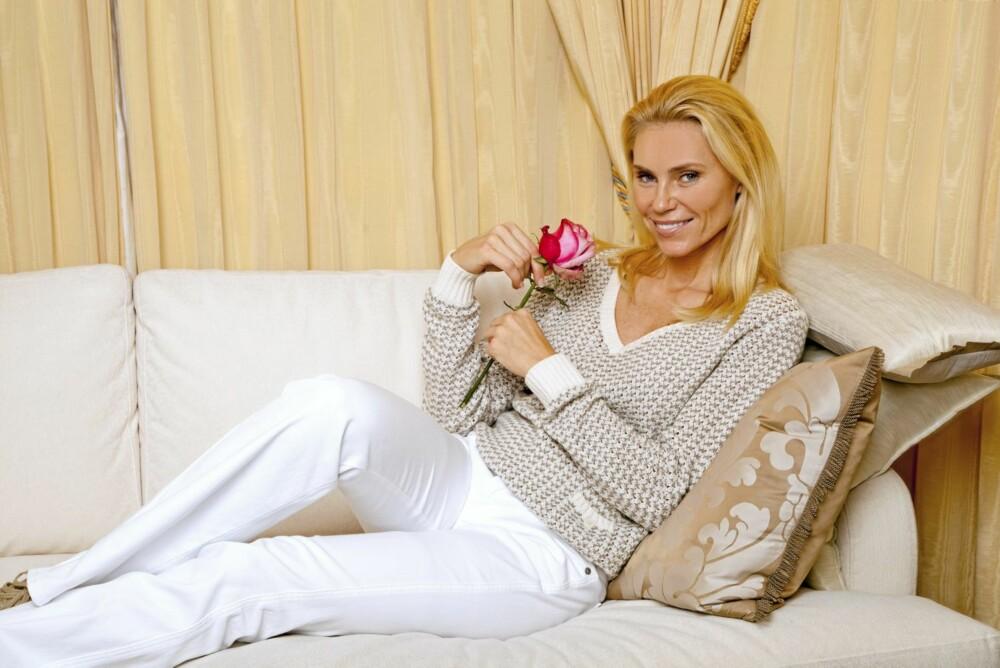 MÅ HA STIL: Anna Anka liker ikke for mye smykker hos menn. De skal også ha en sunn livsstil og vite å kle seg.