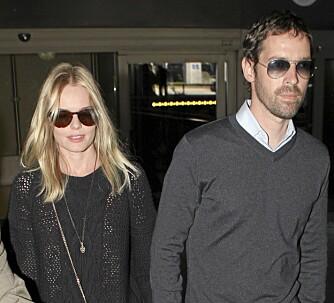 RESPEKT: - Det er er ingen jeg elsker og respekterer mer enn Michael, sier Kate Bosworth og sin regissørkjæreste Michael Polish.