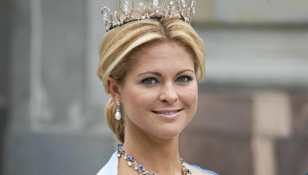 MADELEINE: Svenske prinsesse Madeleine fester med dronning Sonja i New York til helgen.