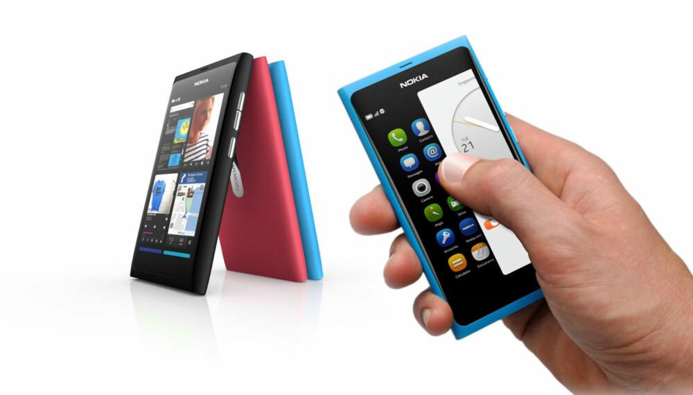 NYTT: Nokia N9 er årets mest nyskapende mobiltelefon.