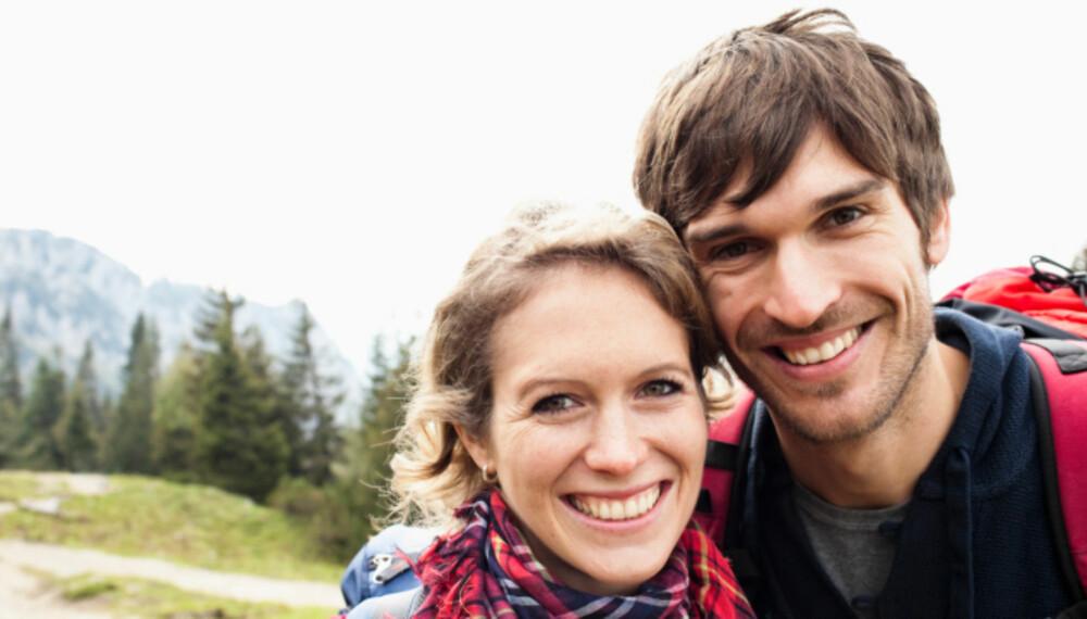 TURPARTNER: Høsten er tiden for å komme seg ut på tur og dele gode opplevelser sammen med noen.