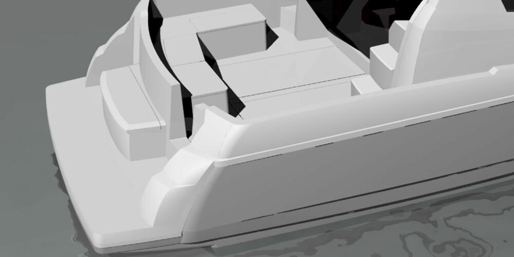 PLASS: Arven fra Viknes videreføres også i form av et forseggjort akterdekk.