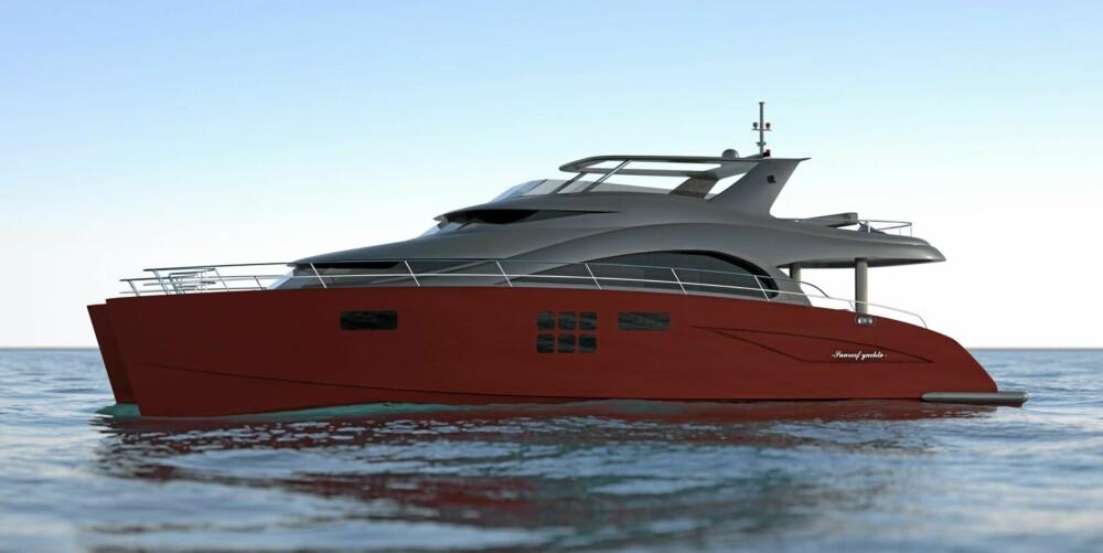 MINST: Sunreef Yachts lanserer sin minste modell, 60 Sunreef Power.