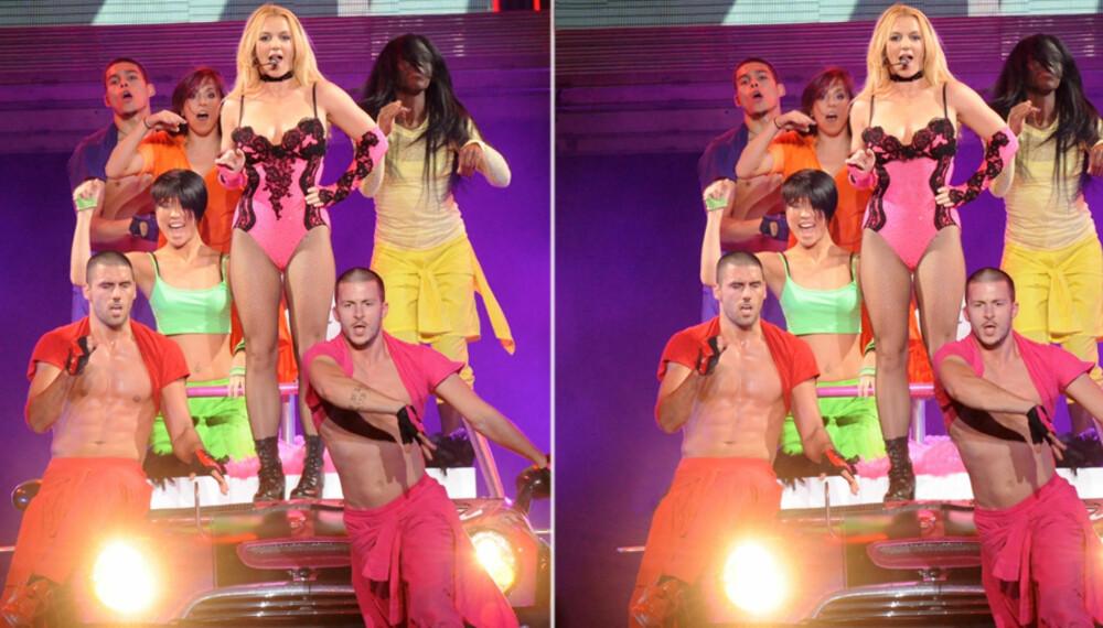 "FEM FATALE FEIL: Britney under sin ""Femme Fatale""-turné."