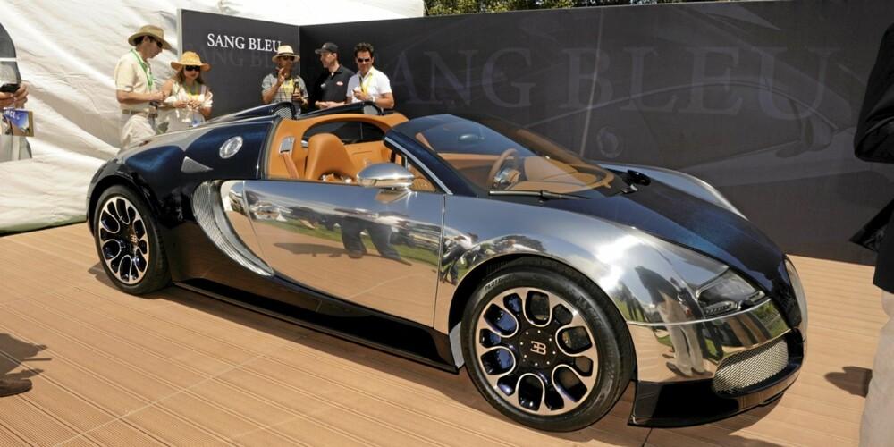 BIL: Dette er inspirasjonskilden Bugatti Veyron Sang Bleu special edition