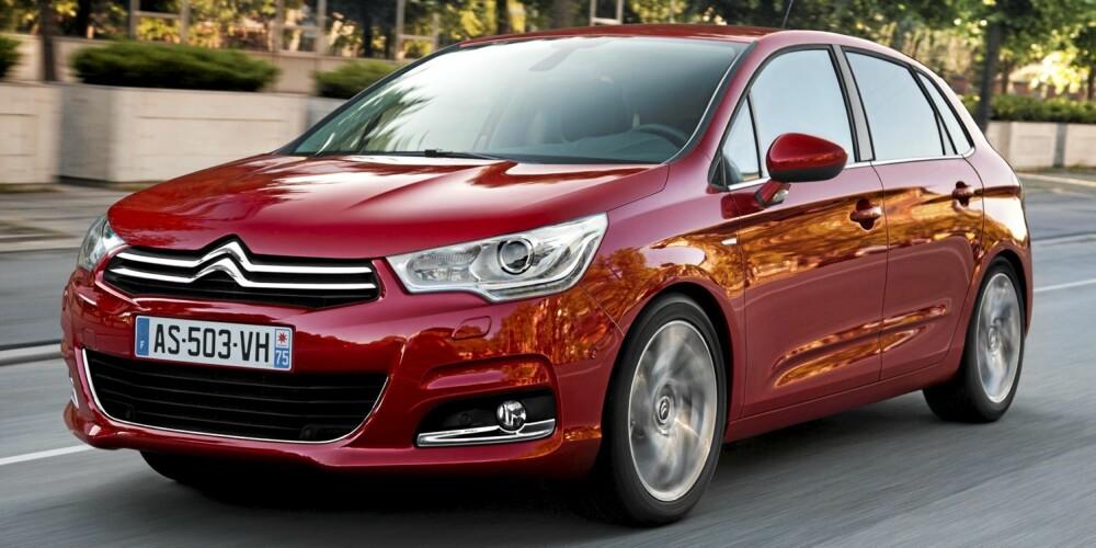BON JOUR: Med C4 er mange av de særeste Citroën-løsningene slipt bort, men komforten er ivaretatt.