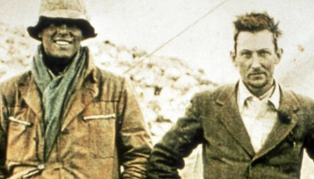 Andrew Irvine og George Mallory.