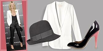 SMOKING HOT: Gjør som kjendisene, og kle deg i et herreinspirert antrekk på fest.