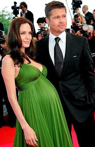 KRANGLER: Angelina Jolie og Brad Pitt