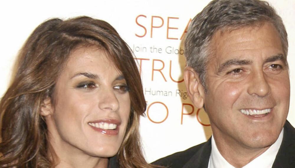 Elisabetta Canalis og George Clooney brøt i sommer, men den vakre italienerinnen har bare ros til overs for eksen.