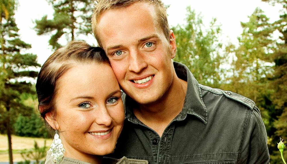 BLE SJALU: Tonje Westrebø ble sjalu da Harald Leland datet andre jenter i TVNorge-programmet «Gøy på landet». Men etter innspillingen har begge bare hatt hverandre i tankene.