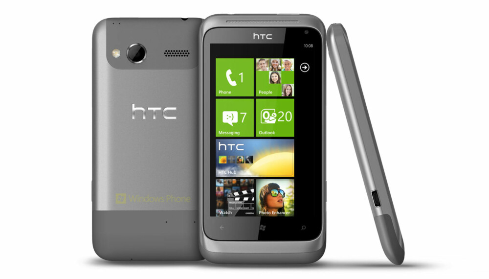 WINDOWS: HTC Radar kjører den nyeste utgaven av operativsystemet Windows Phone 7.