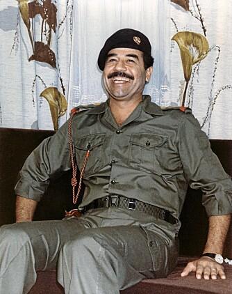 Saddam Hussein var ikke akkurat den ideelle farsfiguren.