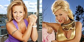 NÅ OG FØR: Lene Alexandra var inkarnasjonen av puppe-pop, men la om stilen. Nå er hun blitt en ettertraktet personlig trener.