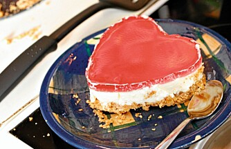 Desserten: Se, dette begynner å ligne noe.