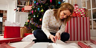 KREATIV: Det gjelder å tenke nytt hvis man skal ha det gøy med gaveinnpakkingen.