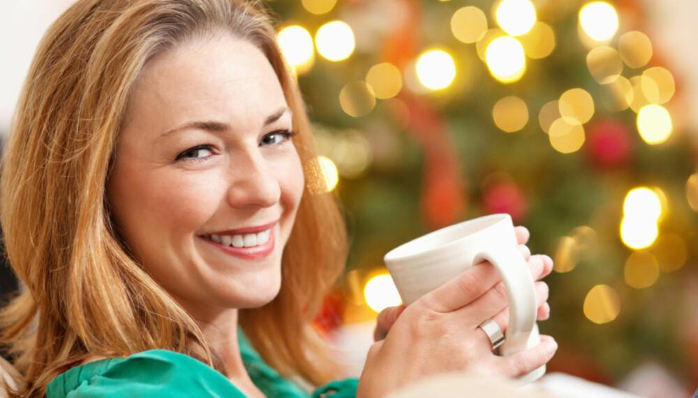 KOS: Julen byr på masse kos, særlig når huset er fylt med julestemning.