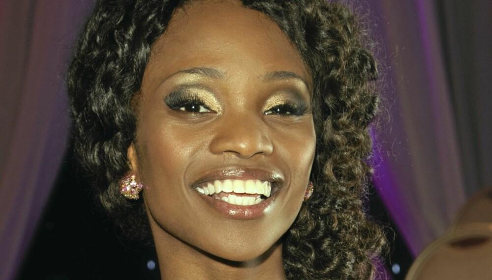 I AFRIKA: Stella Mwangi var ikke i salen under Skal vi danse-finalen i helgen.