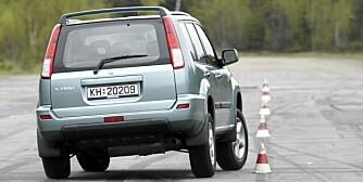 NISSAN X-TRAIL: En rommelig bruksbil til hyggelig pris.