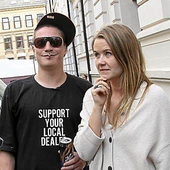 KOM TIL ONKL: Onkl P er Lives kjæreste - for en stakket stund.
