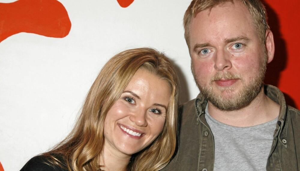 VENTER BARN: Til våren venter NRK-paret Tore Sagen og Live Nelvik barn. At Live dater andre i mellomtiden, har Tore ingen problemer med.
