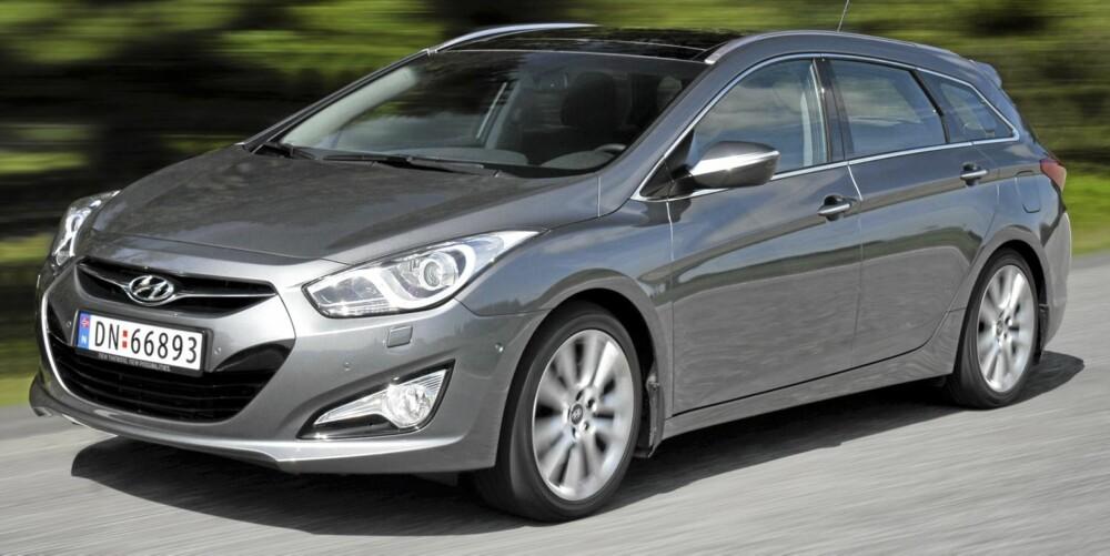 NORGESBIL: Kombinasjonen av pris, plass, design og kjøreegenskaper gjør at Hyundai i40 har alle forutsetningene som skal til for å bli en populær stasjonsvogn i Norge.