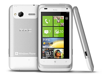 METALLMOBIL: HTC Radar har deksel skåret ut i ett stykke aluminium.