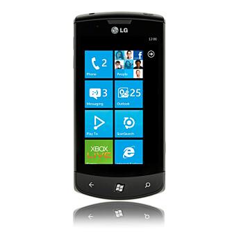 OPPGRADERT: LG Optimus 7 kom på markedet i fjor, men er oppdatert til nyeste utgave av Windows Phone.