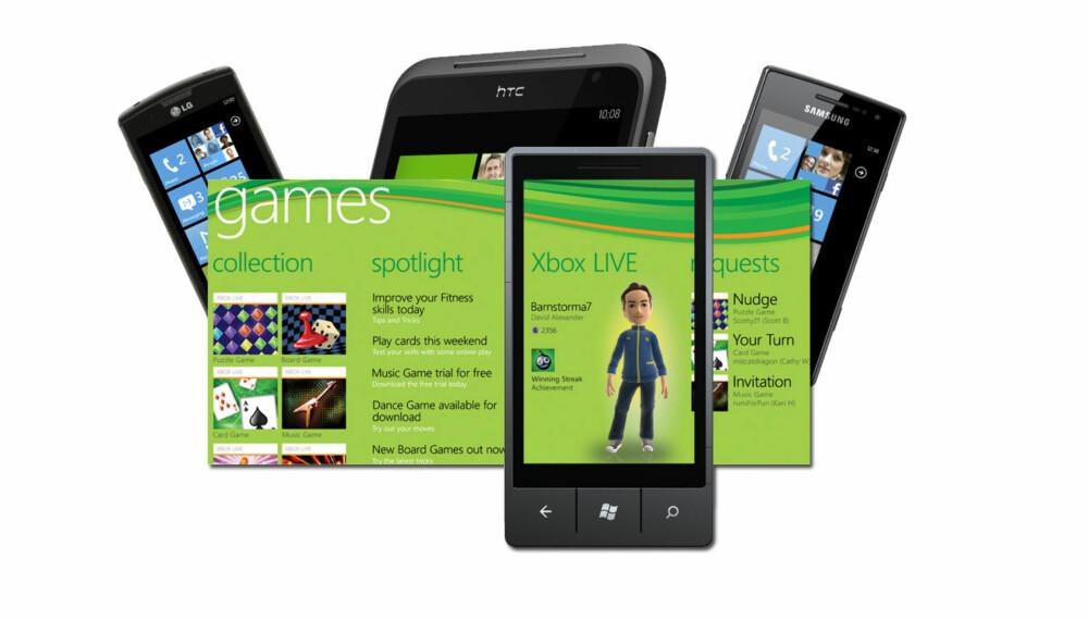 WINDOWS PHONE 7: Microsoft prøver å få nytt fotfeste i mobilmarkedet med operativsystemet Windows Phone 7. Den nyeste versjonen går under kallenavnet Mango, og er tilgjengelig på alle telefoner med Windows Phone 7.