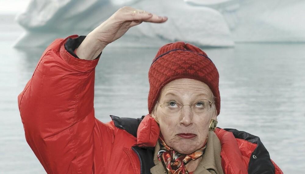 SYNDFLOD: Mens Margrethe var på Grønland i sommer ble København rammet av det verste skybruddet i manns minne, og dronningens palé ble hardt rammet av uværet.