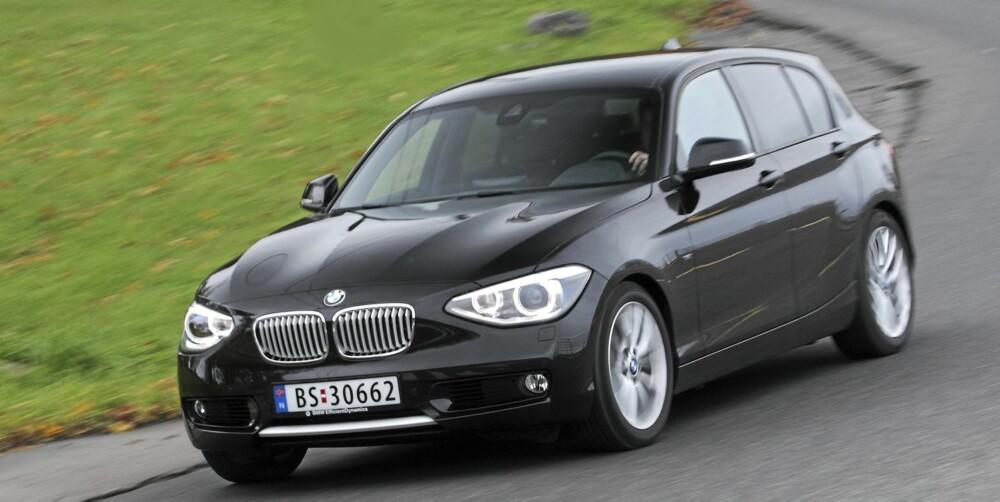 KJØREMESTER: Kjøreegenskapene er typisk BMW meget gode. Komforten er dessuten blitt betydelig bedre.