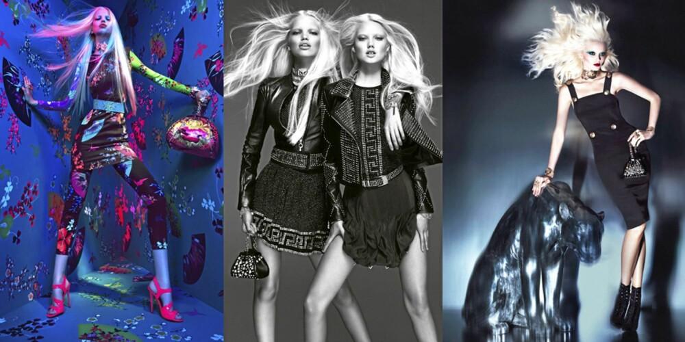 LEKRE KAMPANJEBILDER: H&Ms kampanjebilder er tatt av den annerkjente duoen Mert & Marcus.