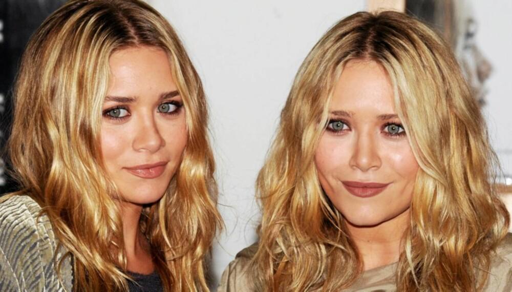 ULIKE ØYEFORMER: Olsen-tvillingene har vakre store glugger. Hva har du?