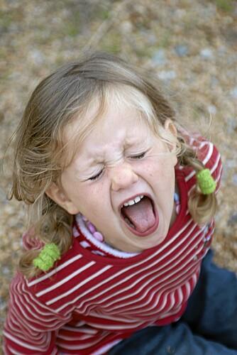 Jeg vil ha godteri! Foto: Colourbox.no