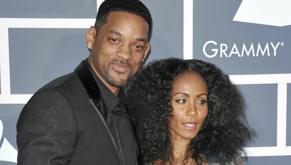BRUDD: Will Smith og kona Jada Pinkett Smith skal være i ferd med å gå fra hverandre.
